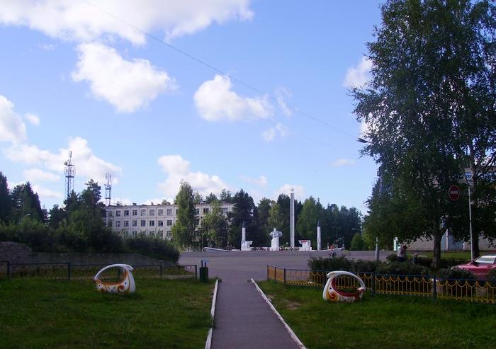 Первомайский - главная площадь